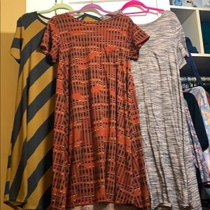 Lularoe Carly dresses size small